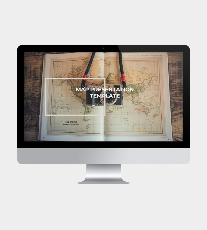 Maps PowerPoint Template