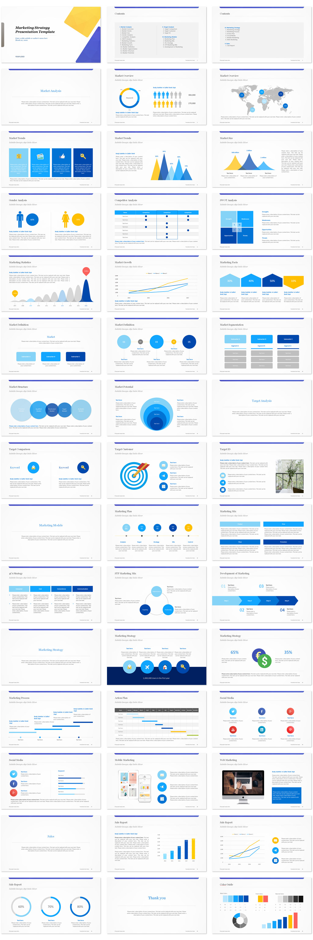 Marketing Strategy PowerPoint Templates