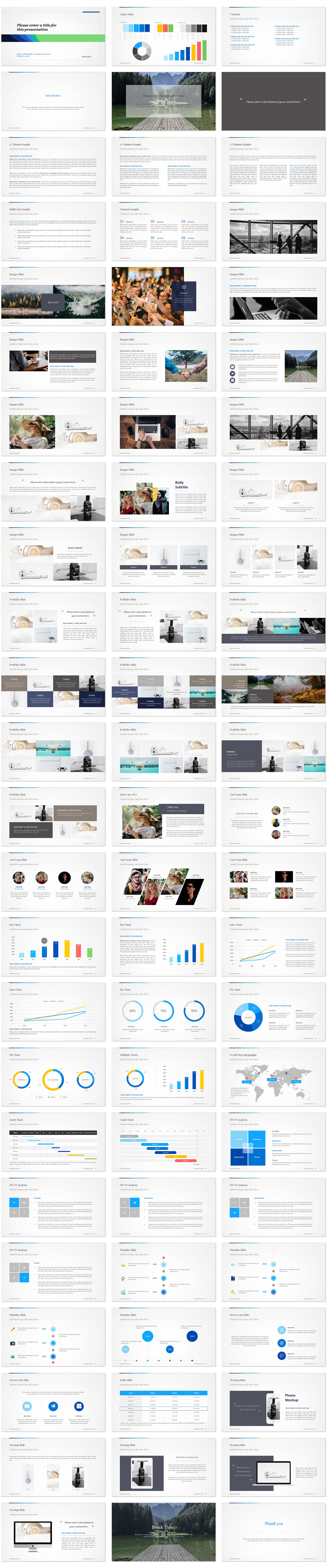 Multipurpose PowerPoint Templates