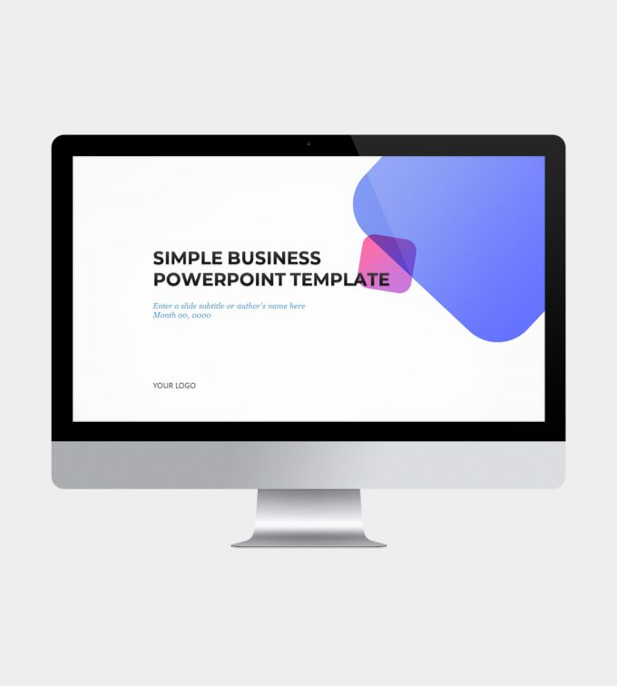 Simple Business PowerPoint Template