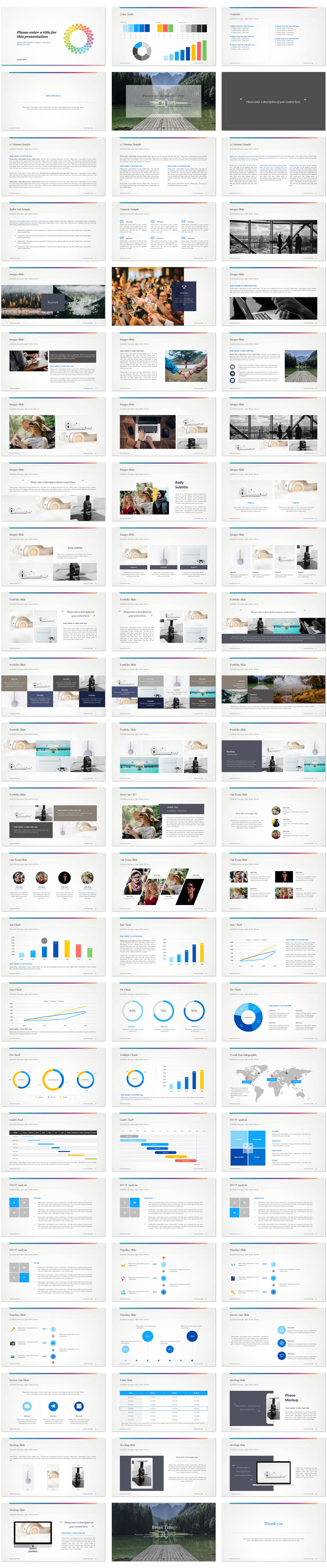 Social PowerPoint Templates