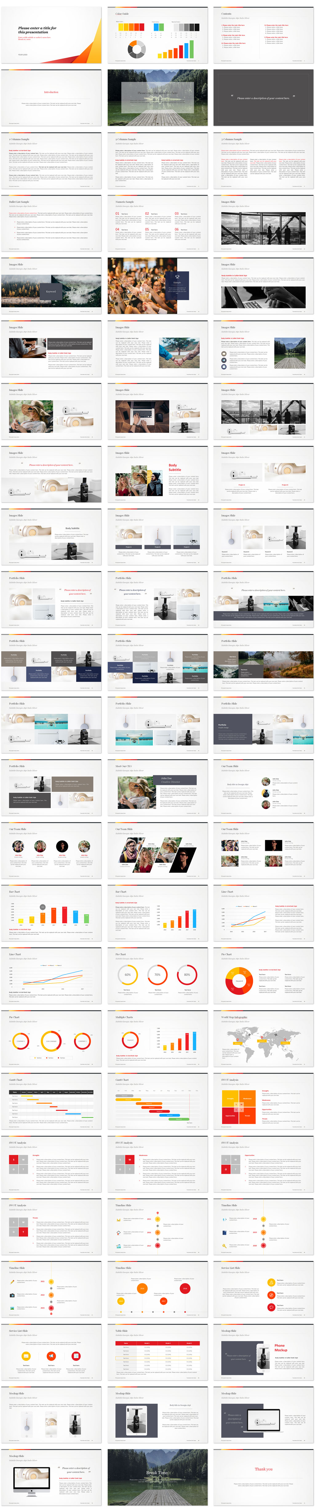 Trendy PowerPoint Templates