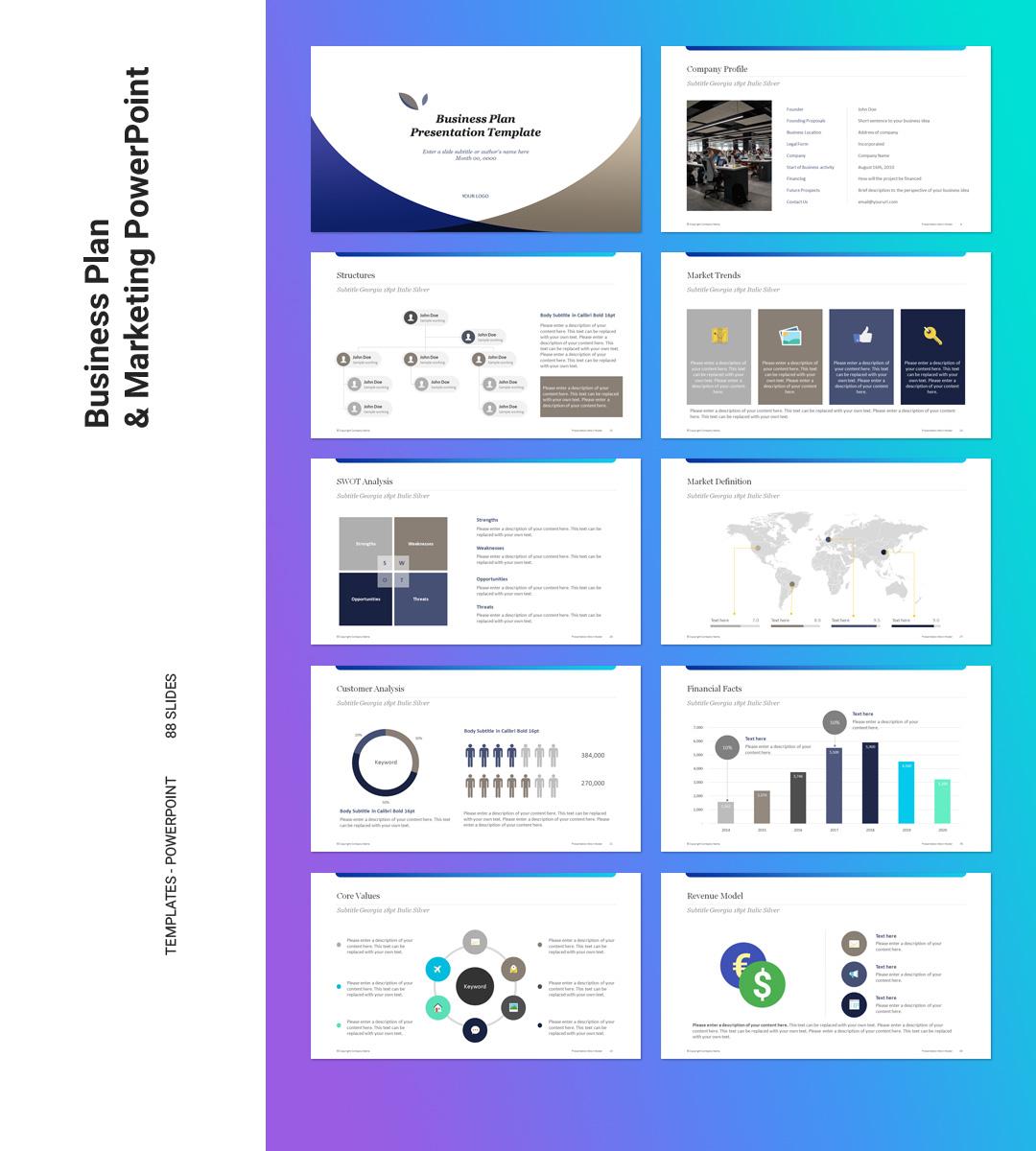 Sample business plan presentation ppt psychology thesis autism