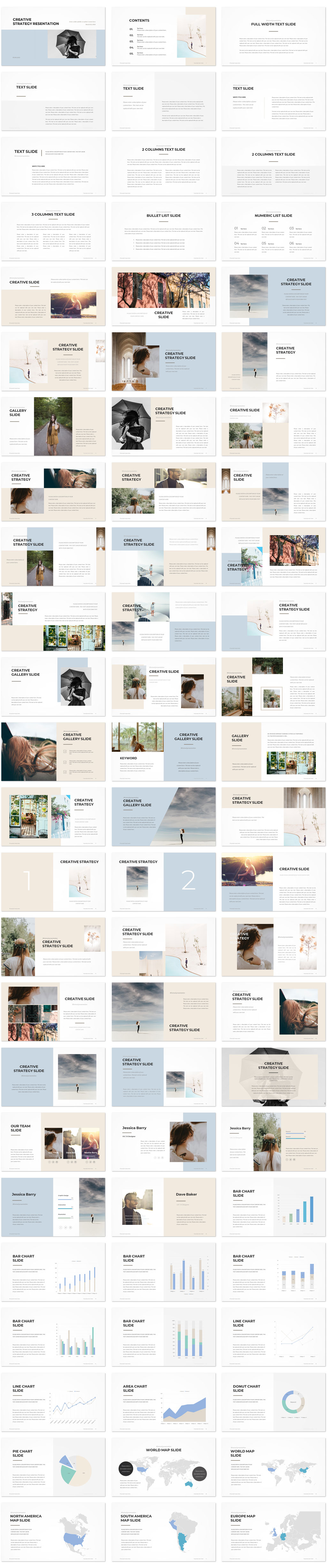 Creative Strategy PowerPoint Template