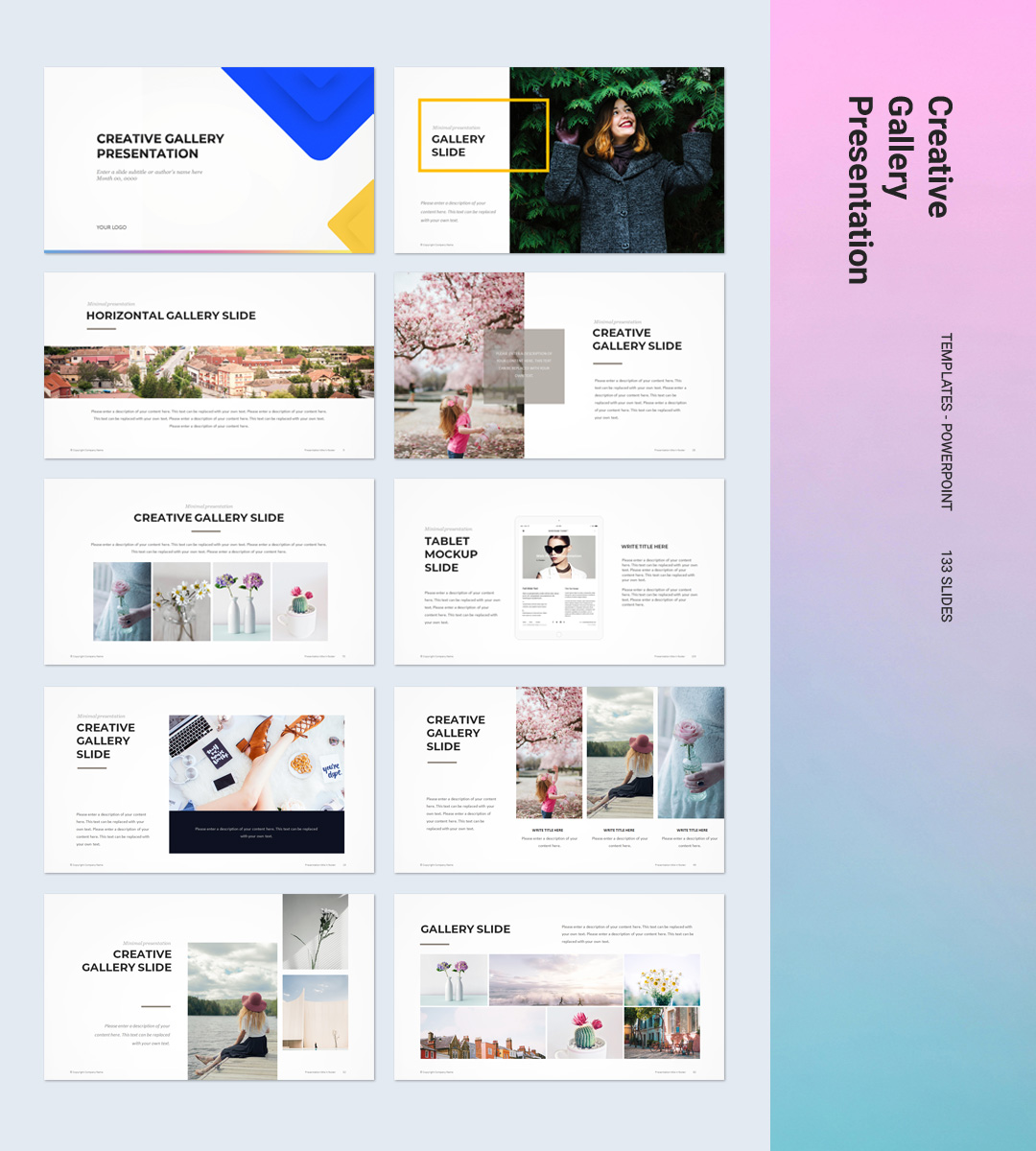 Creative Powerpoint Examples: Creative PowerPoint Template - PPTWear.com