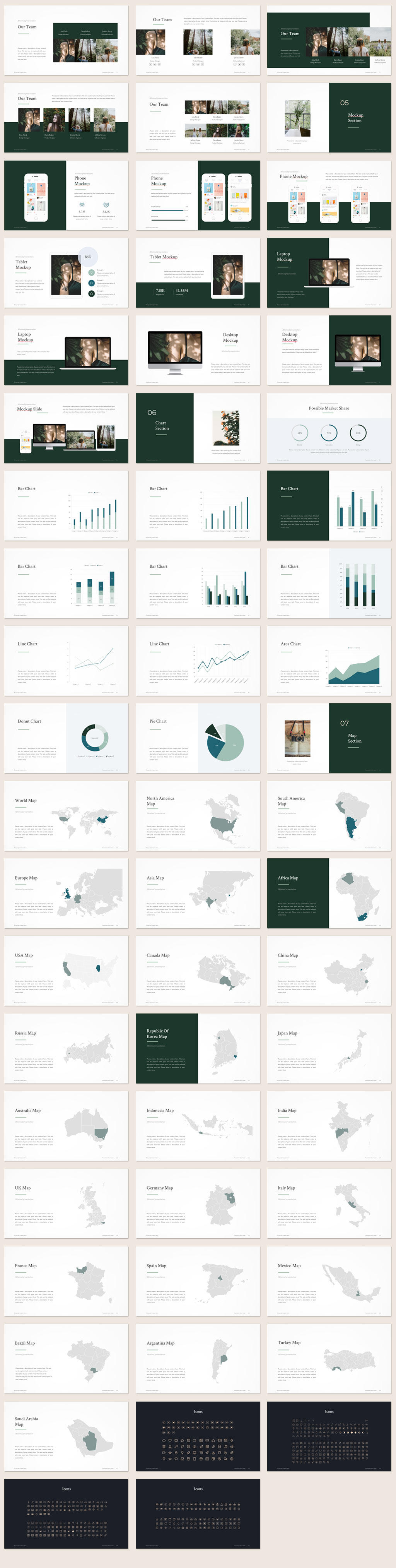 Minimal Portfolio PowerPoint Template