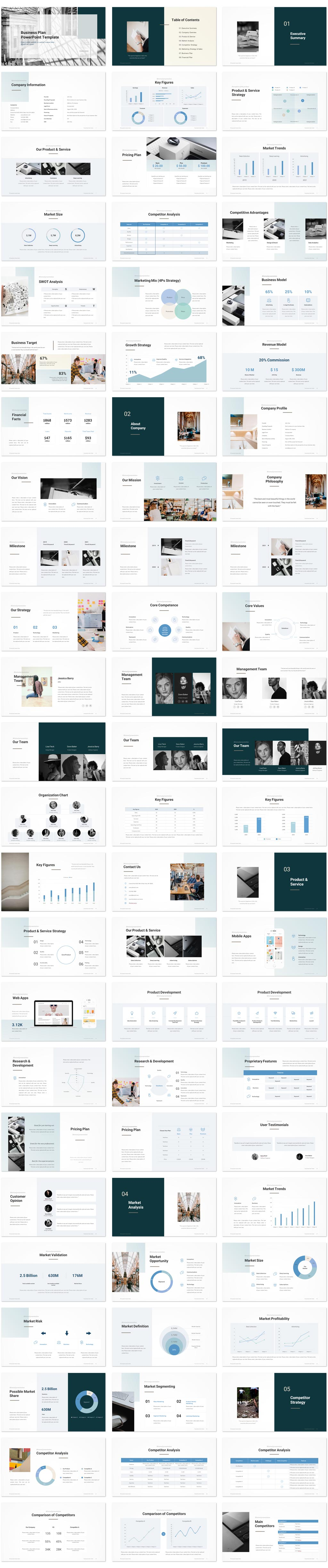 Business Plan PowerPoint Template