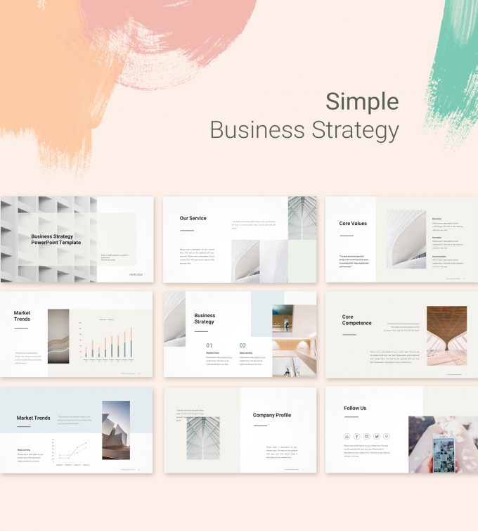 Simple Business Strategy Template