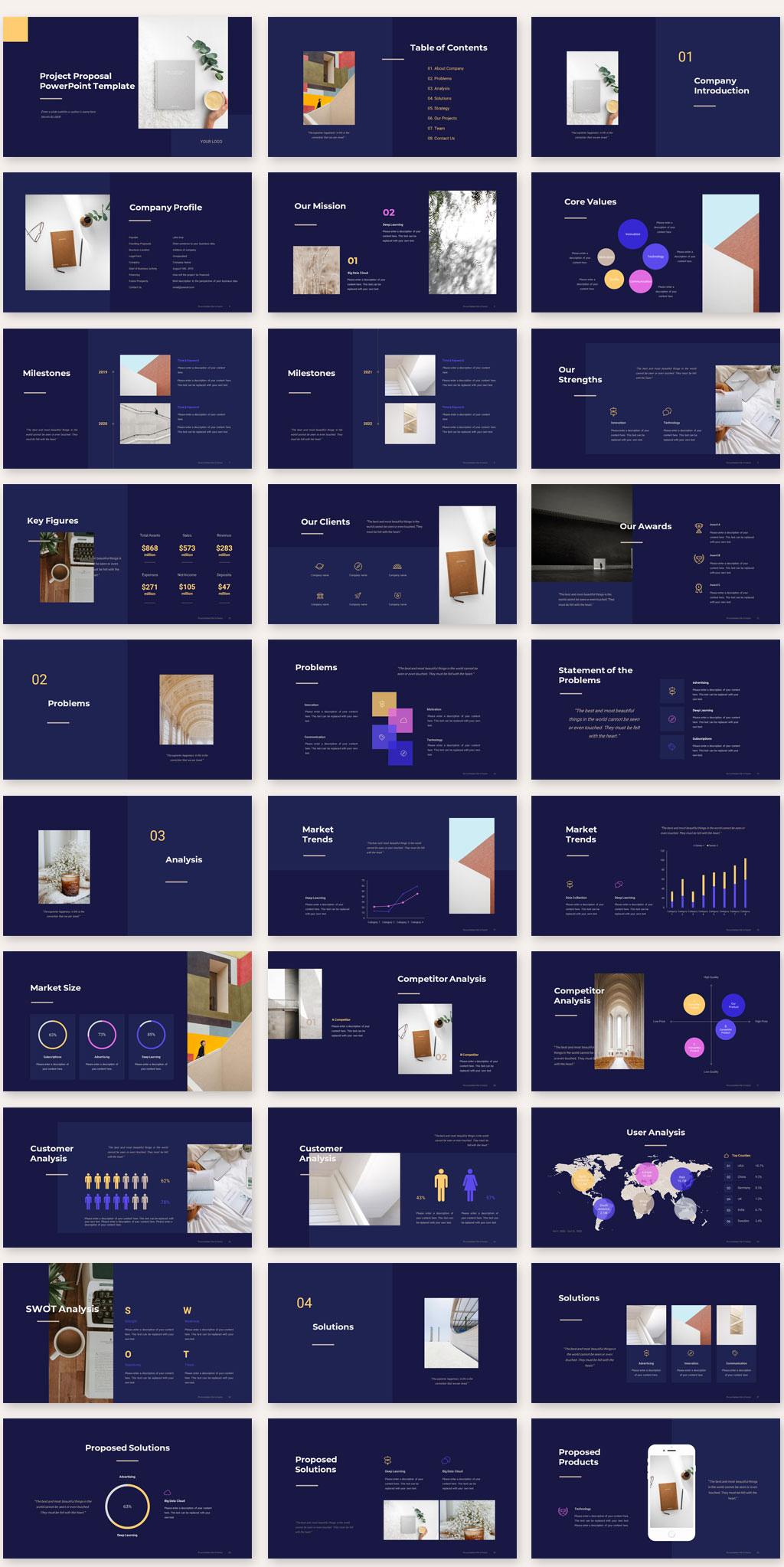Project Proposal PowerPoint Template01