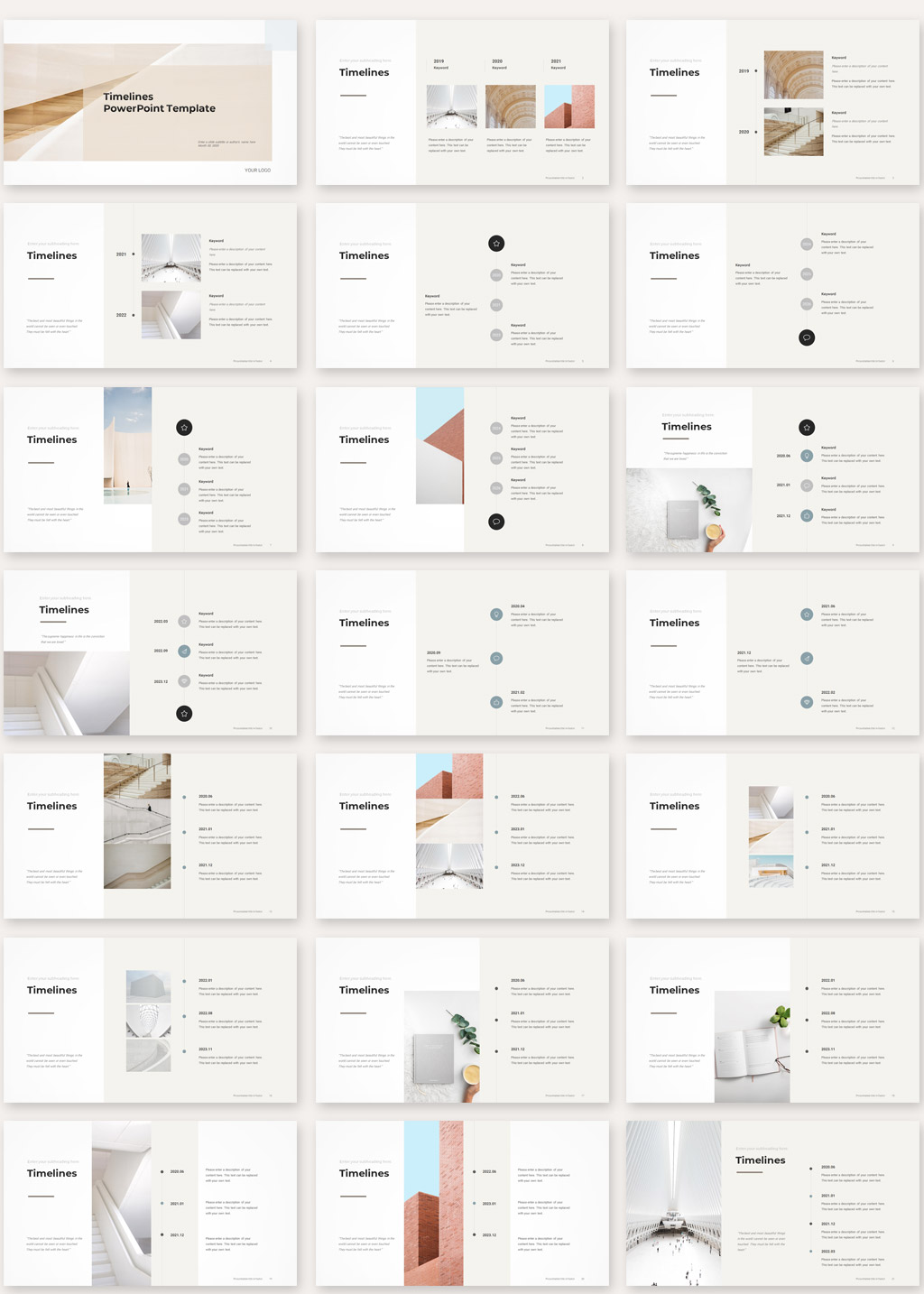 Timelines PowerPoint Template