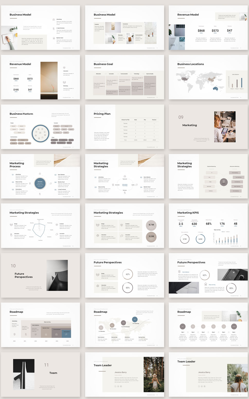 Pitch Deck PowerPoint Template 2020