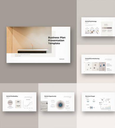 Business Plan PowerPoint Template 00