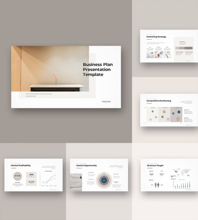 Business Plan PowerPoint Template 00