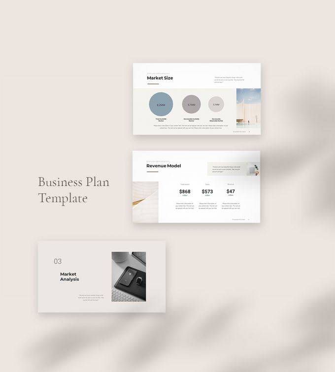 Business Plan PowerPoint Template main