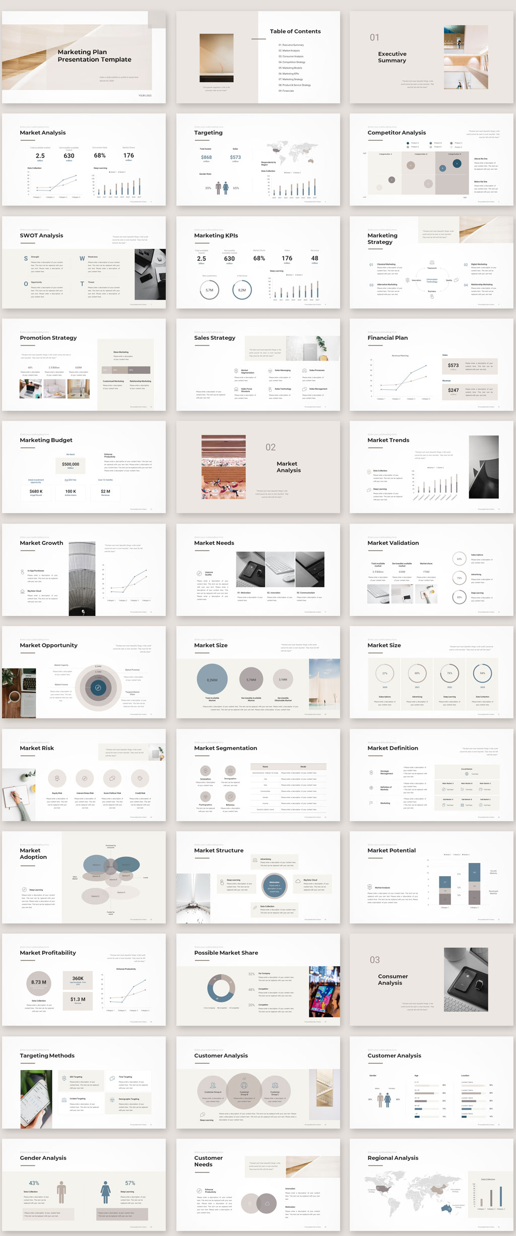 Marketing Plan Template 2020 Preview01