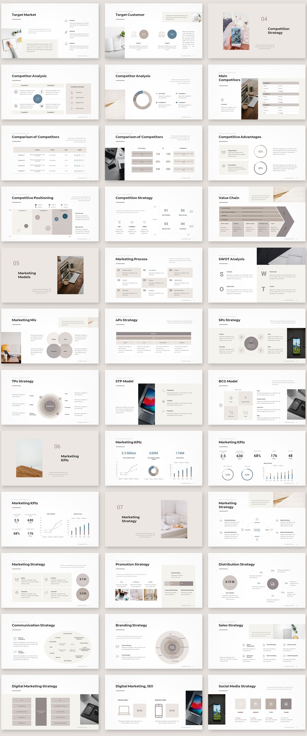 Marketing Plan Template 2020 Preview02
