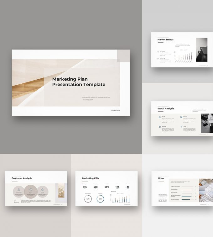 Marketing Plan Template 2020 display01