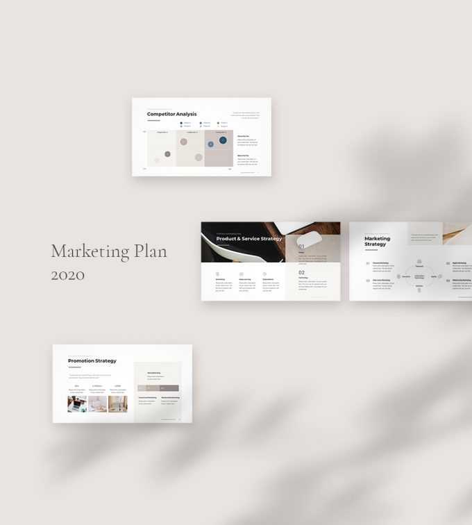 Marketing Plan Template 2020 display02
