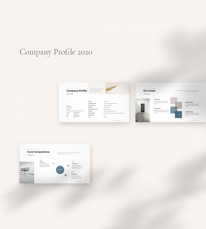 Company Profile Template cover2