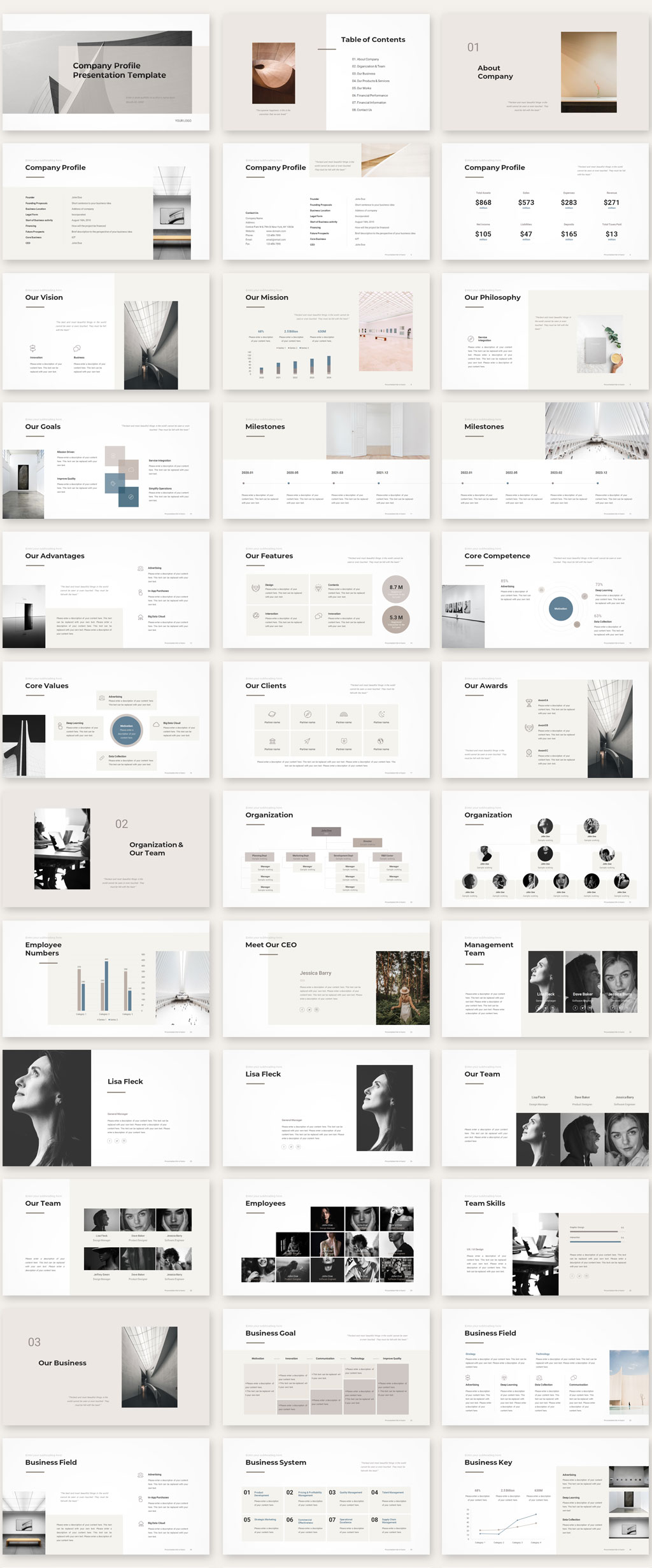 Company Profile Template 1
