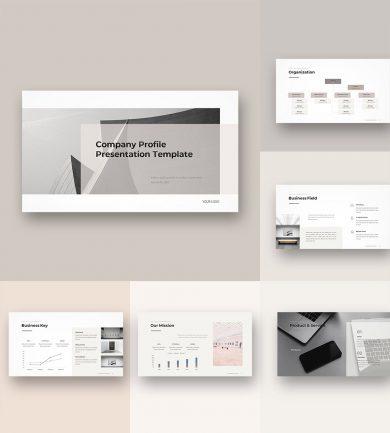 Company Profile Template cover1