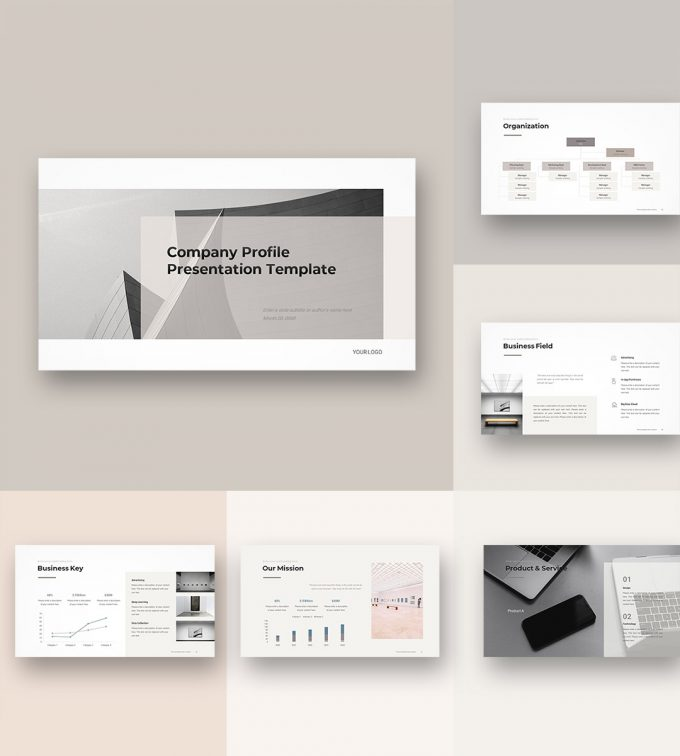 Company Profile Template cover1