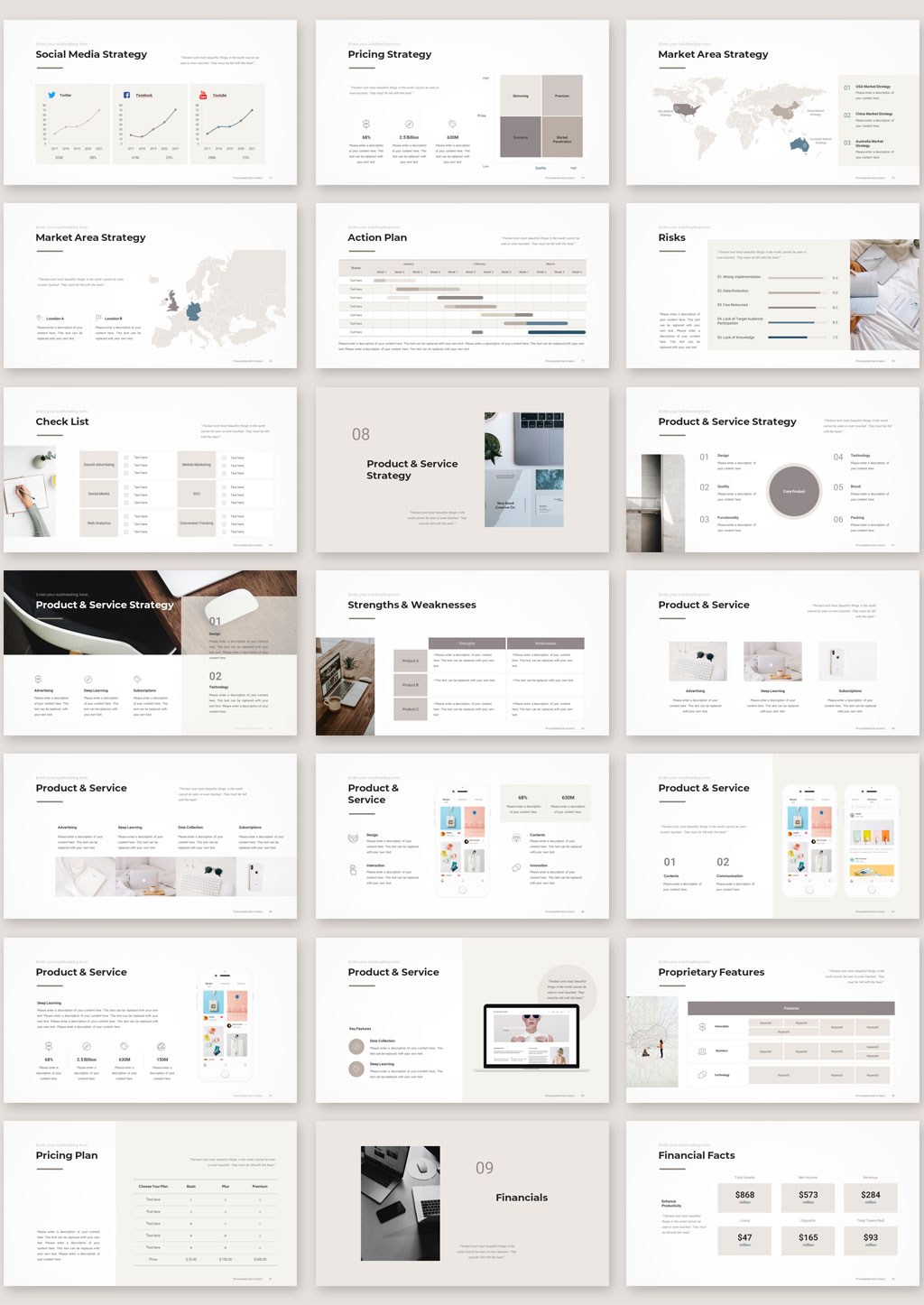 Marketing plan detailed preview 3