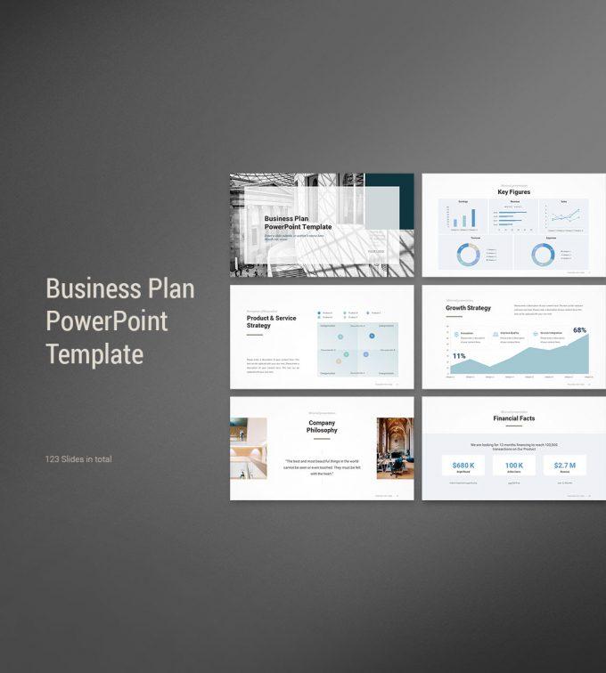 Business Plan PowerPoint Template 01