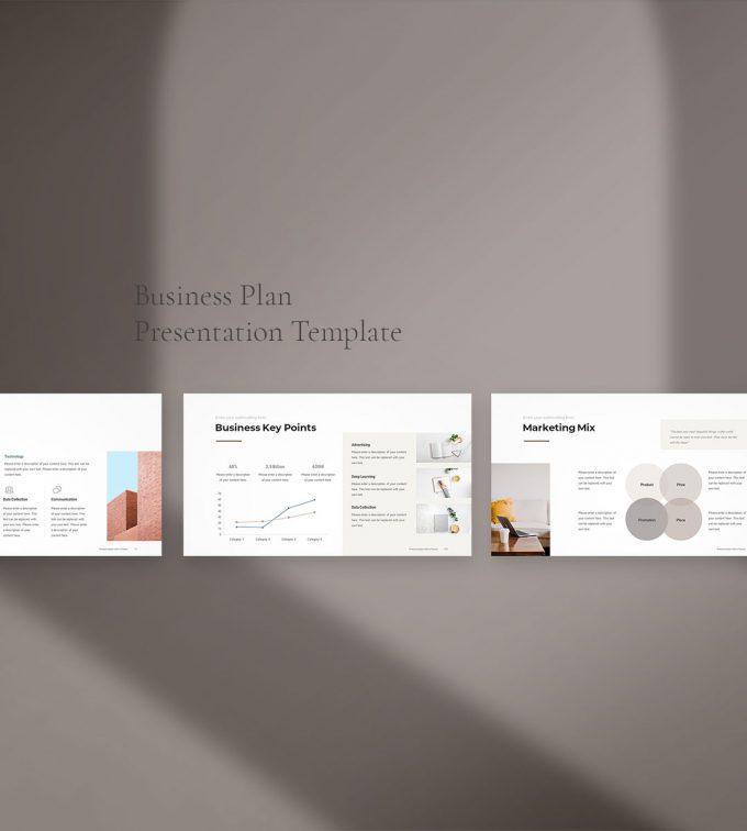 Business Plan PowerPoint Template 3