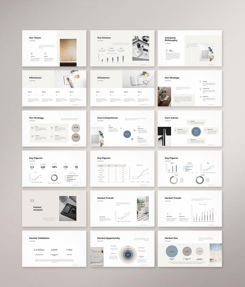 Business Plan PowerPoint Template 002