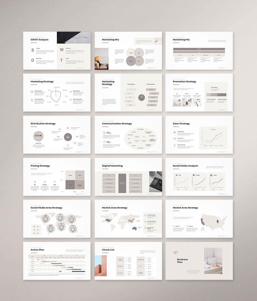Business Plan PowerPoint Template 005