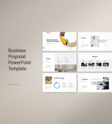 Business Proposal PowerPoint Template Cover