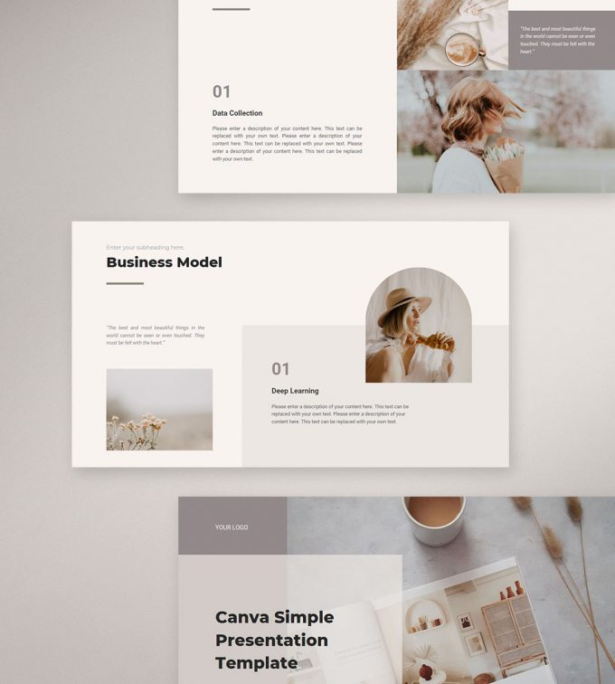 CANVA Simple Presentation Template Preview12