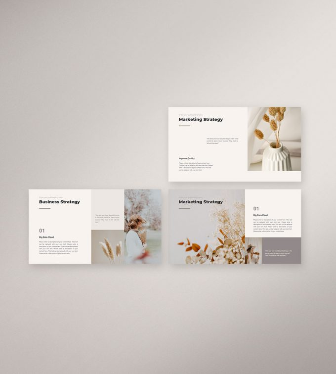 CANVA Simple Presentation Template Preview13