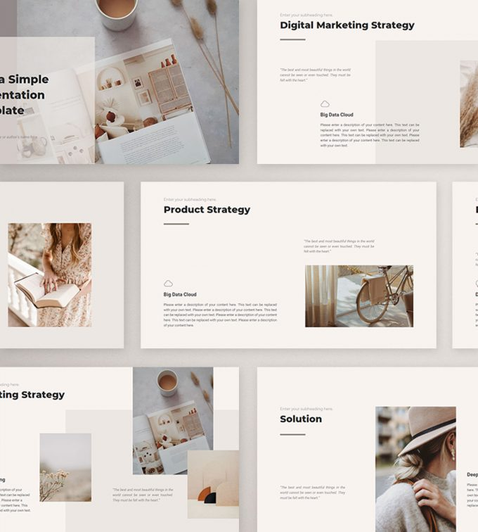 CANVA Simple Presentation Template Preview14
