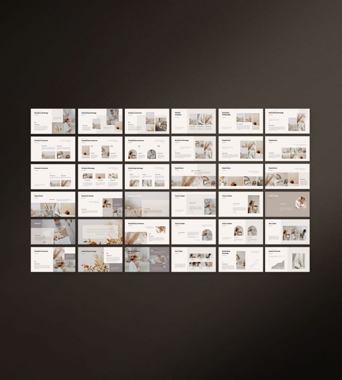 CANVA Simple Presentation Template Preview16