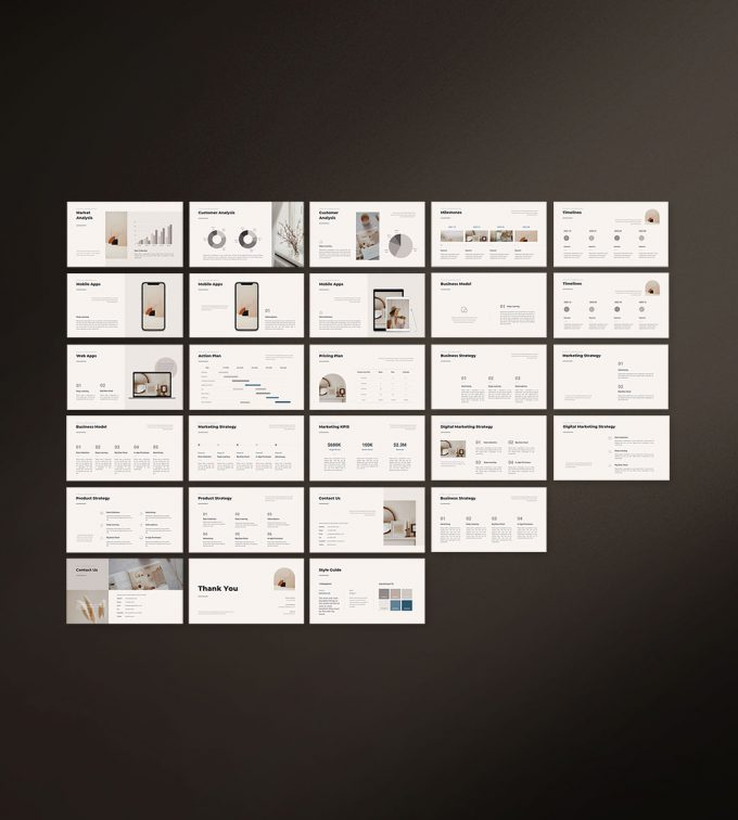 CANVA Simple Presentation Template Preview17