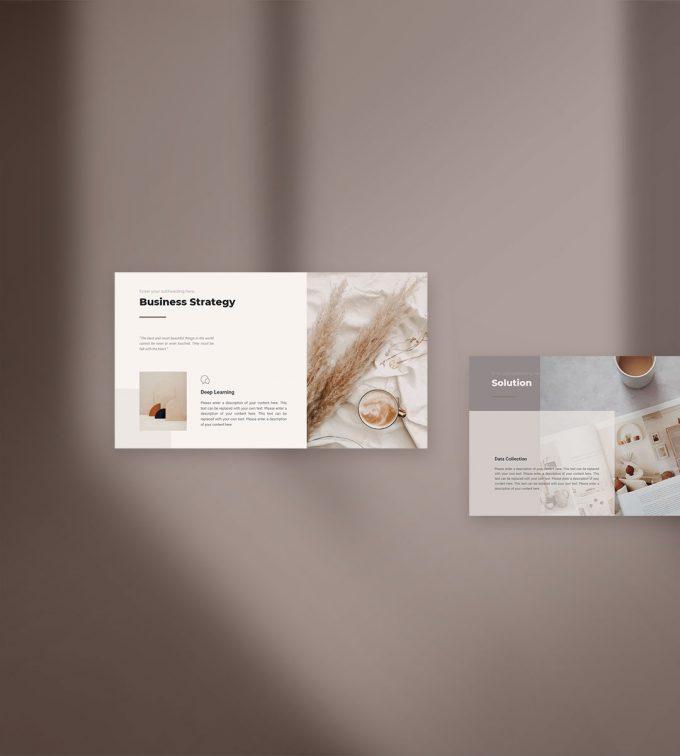 CANVA Simple Presentation Template Cover 2