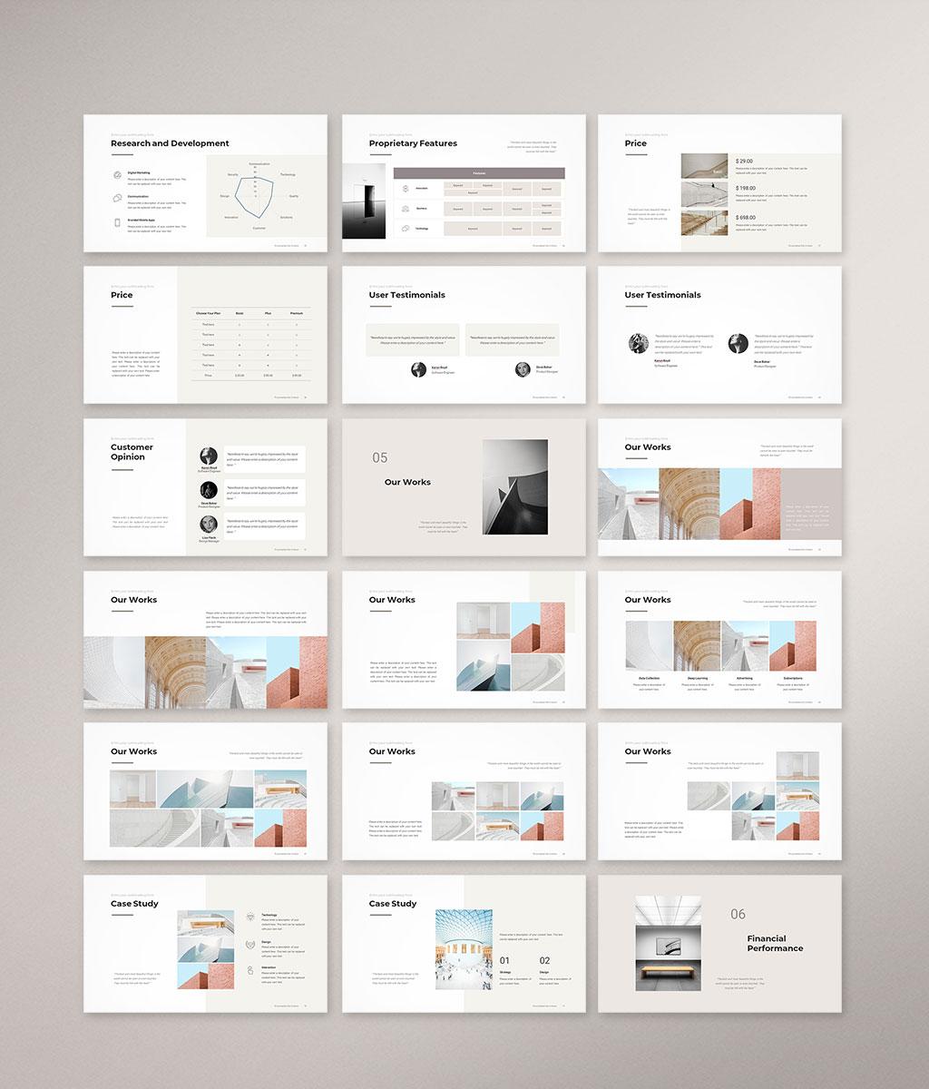 Company Profile Presentation Template Preview 004