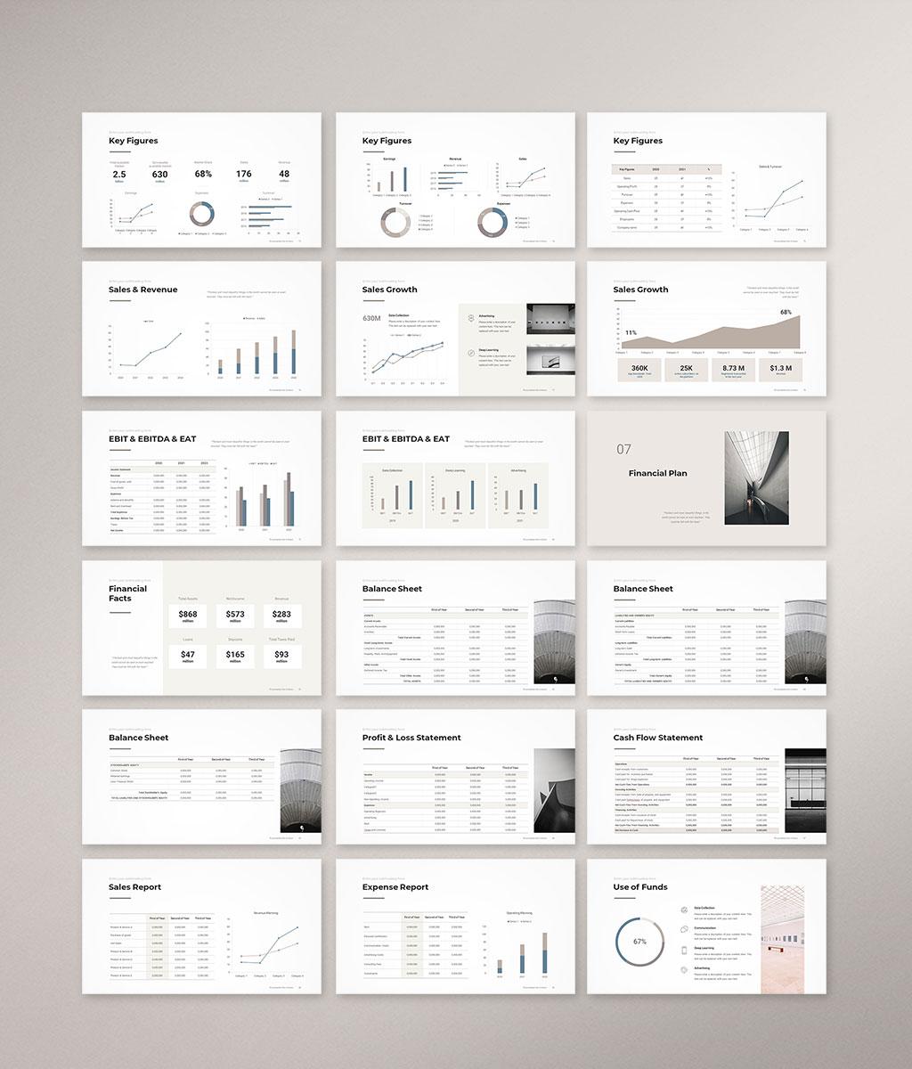 Company Profile Presentation Template Preview 005