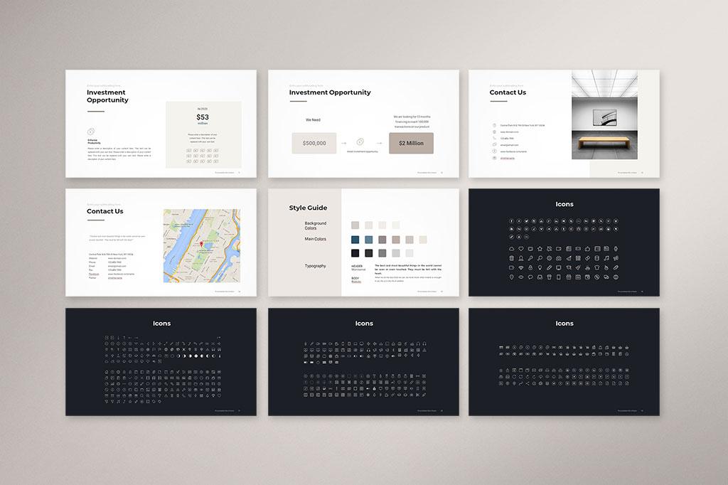 Company Profile Presentation Template Preview 006