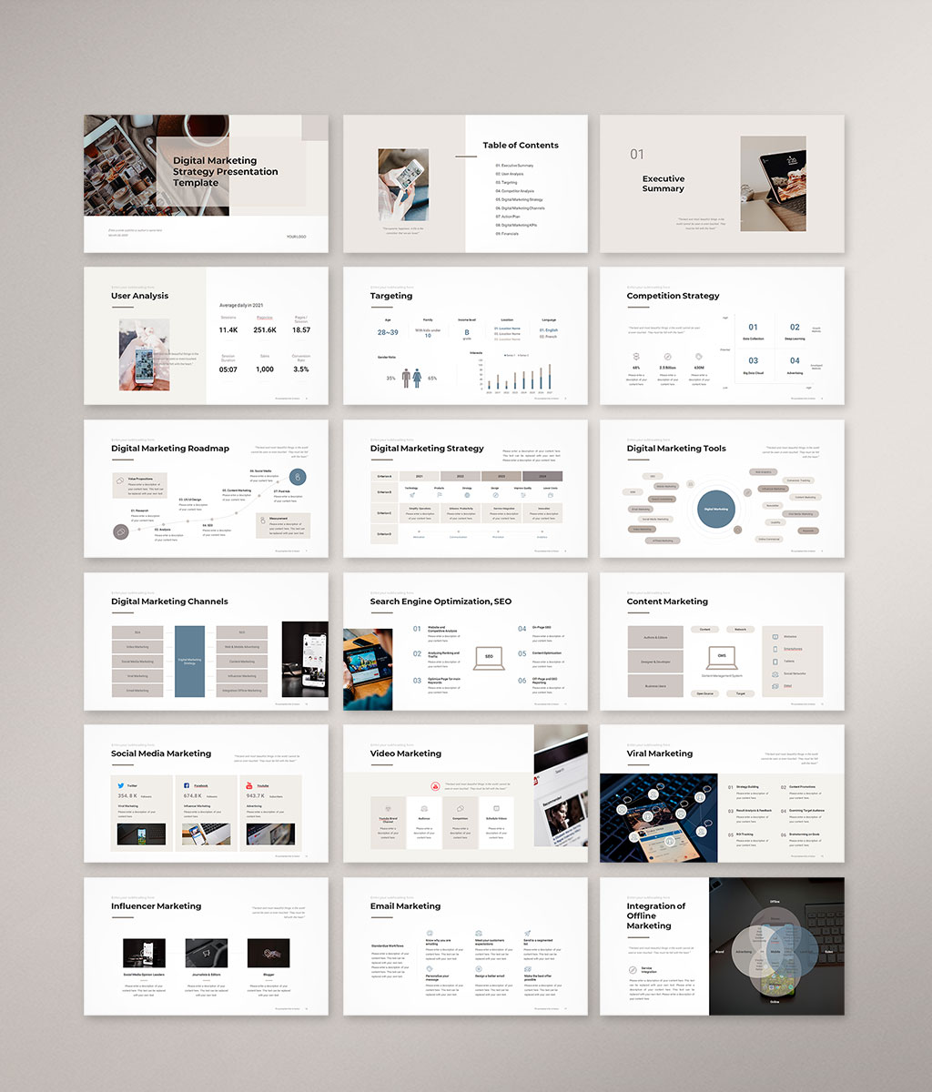 Digital Marketing Strategy Preview preview 001