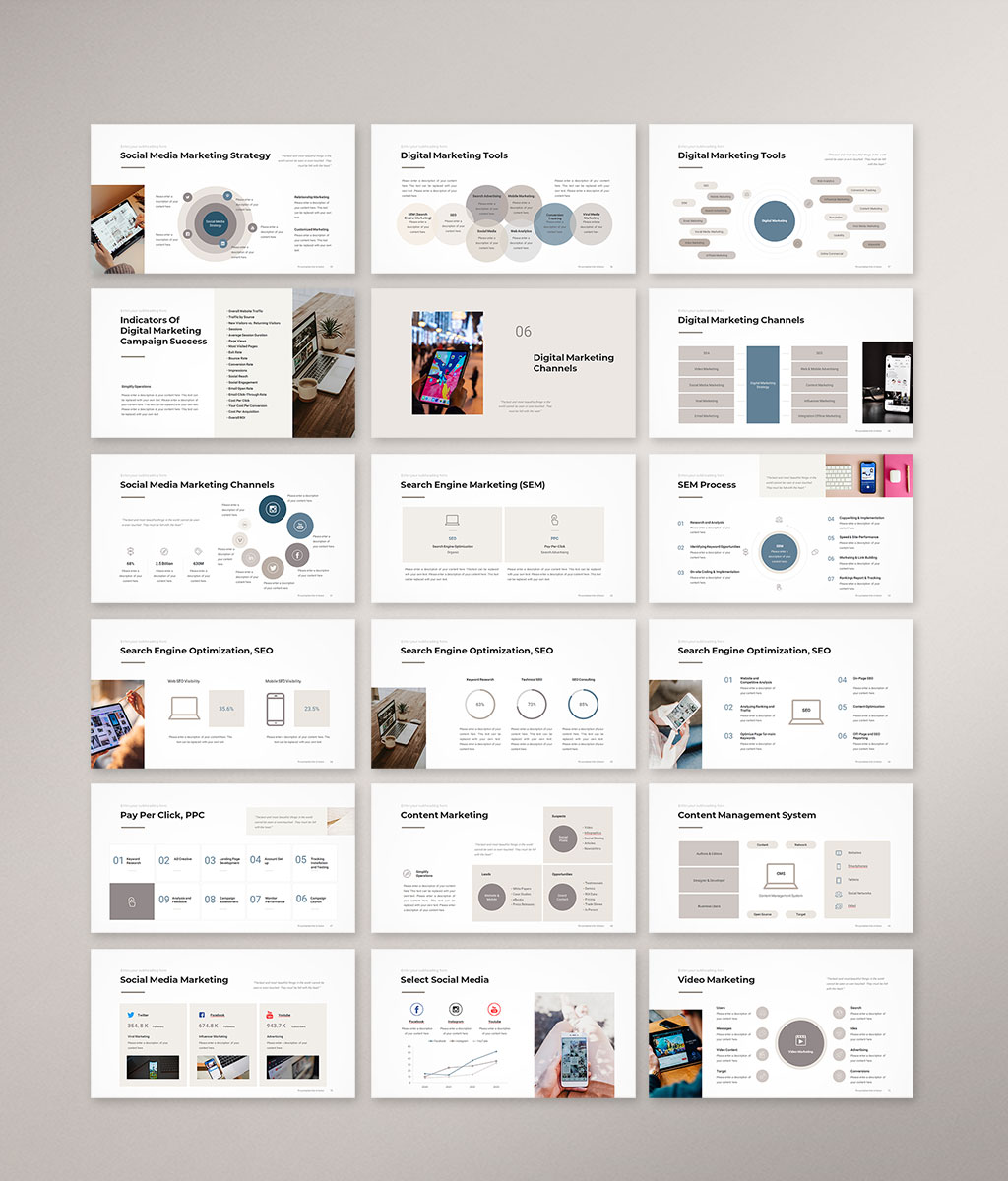 Digital Marketing Strategy Preview preview 004