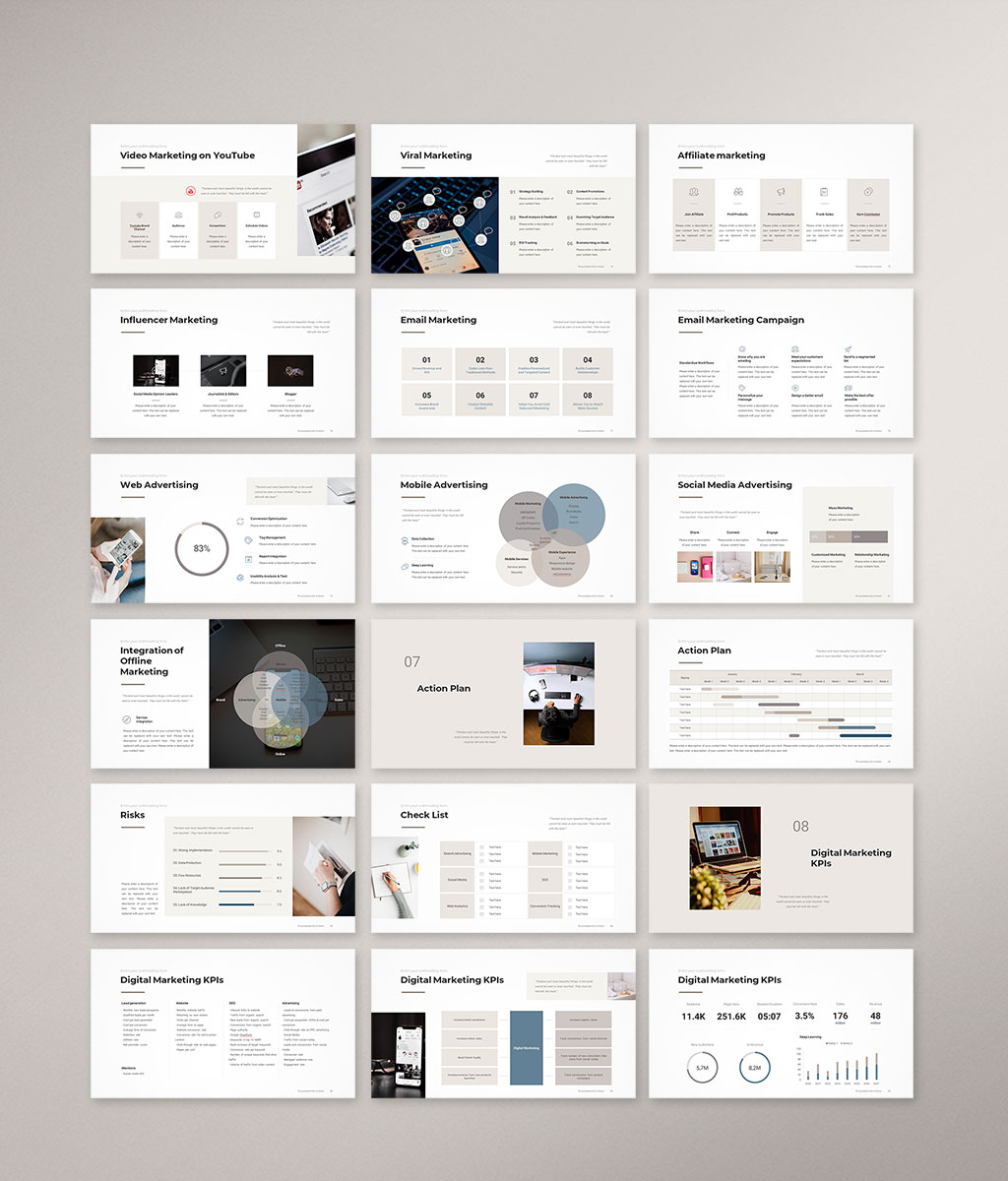Digital Marketing Strategy Preview preview 005