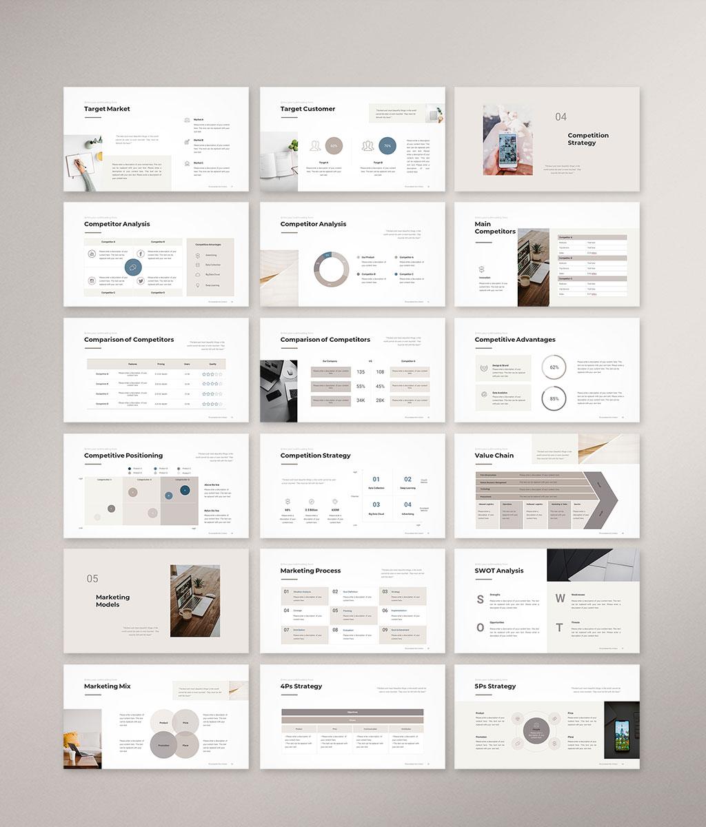 Marketing Plan Presentation Template Preview003