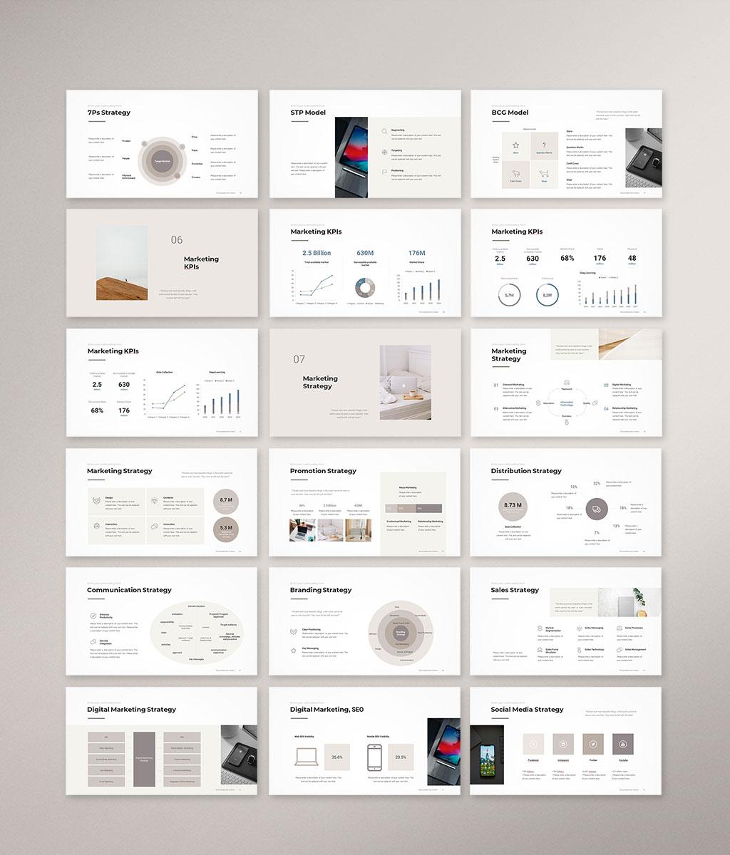 Marketing Plan Presentation Template Preview004