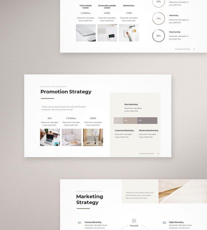 Marketing Plan Presentation Template a