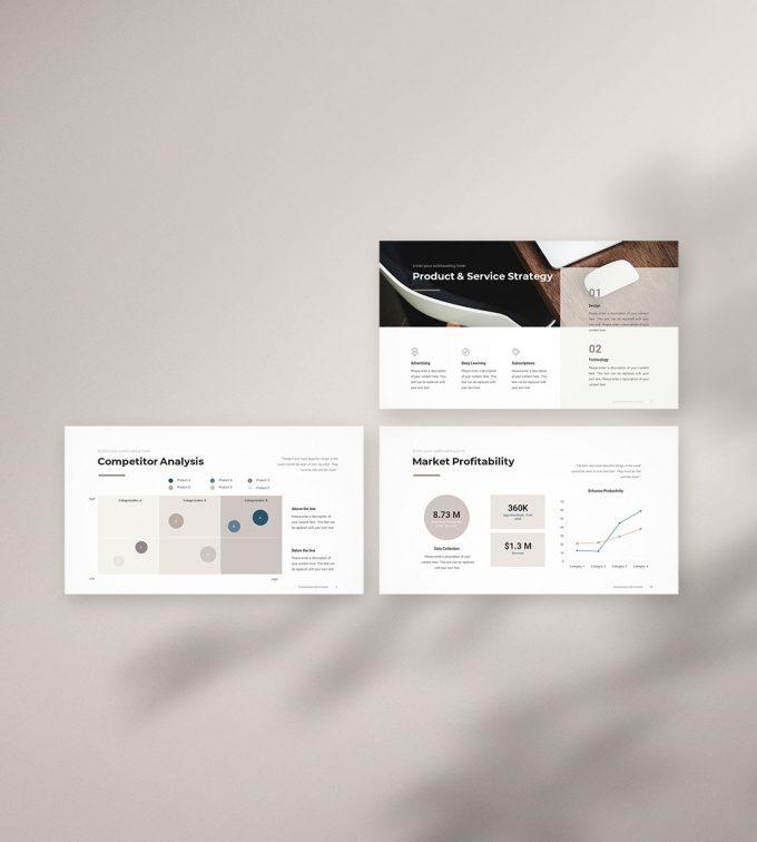 Marketing Plan Presentation Template b