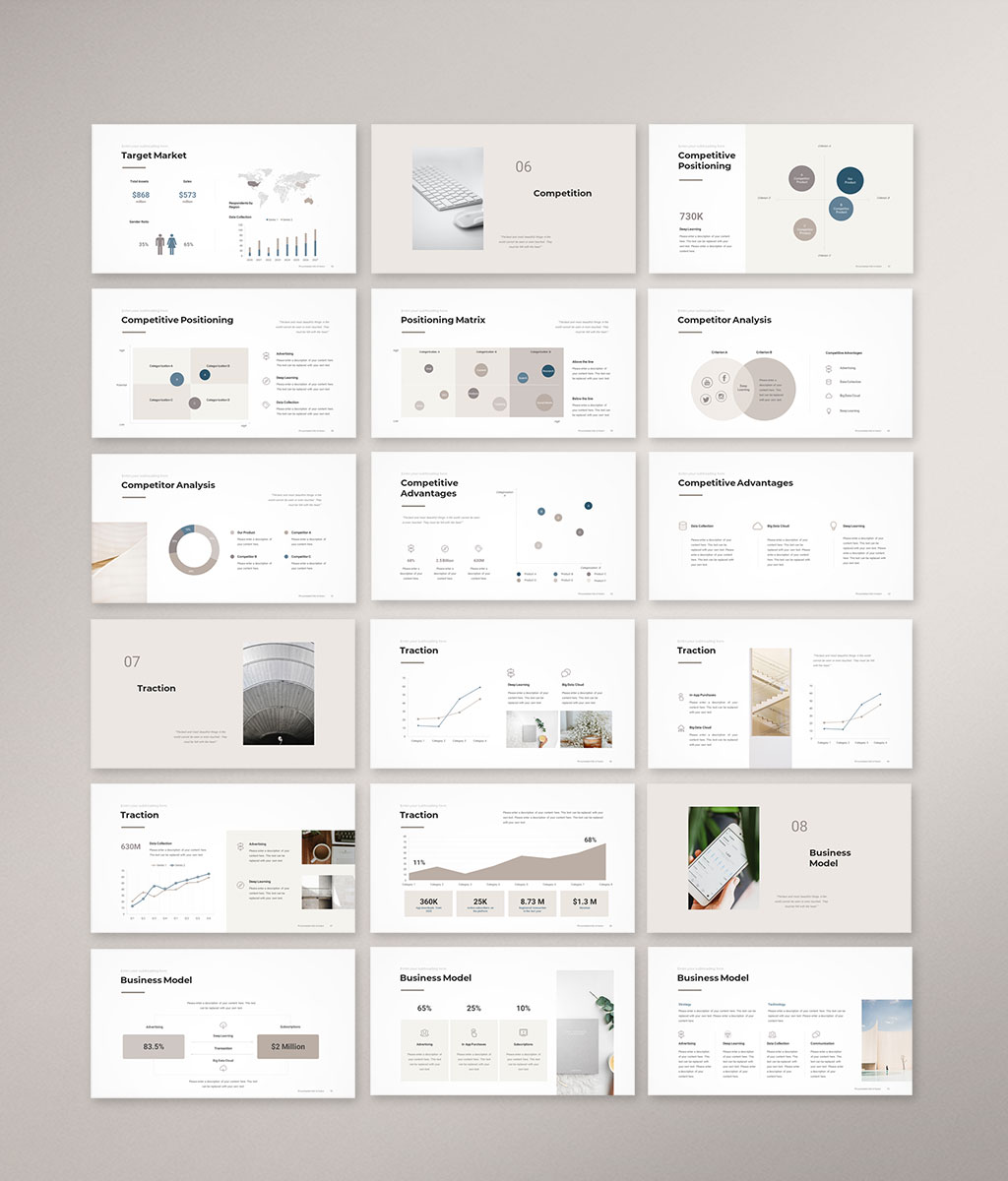 Pitch Deck PowerPoint Template 4