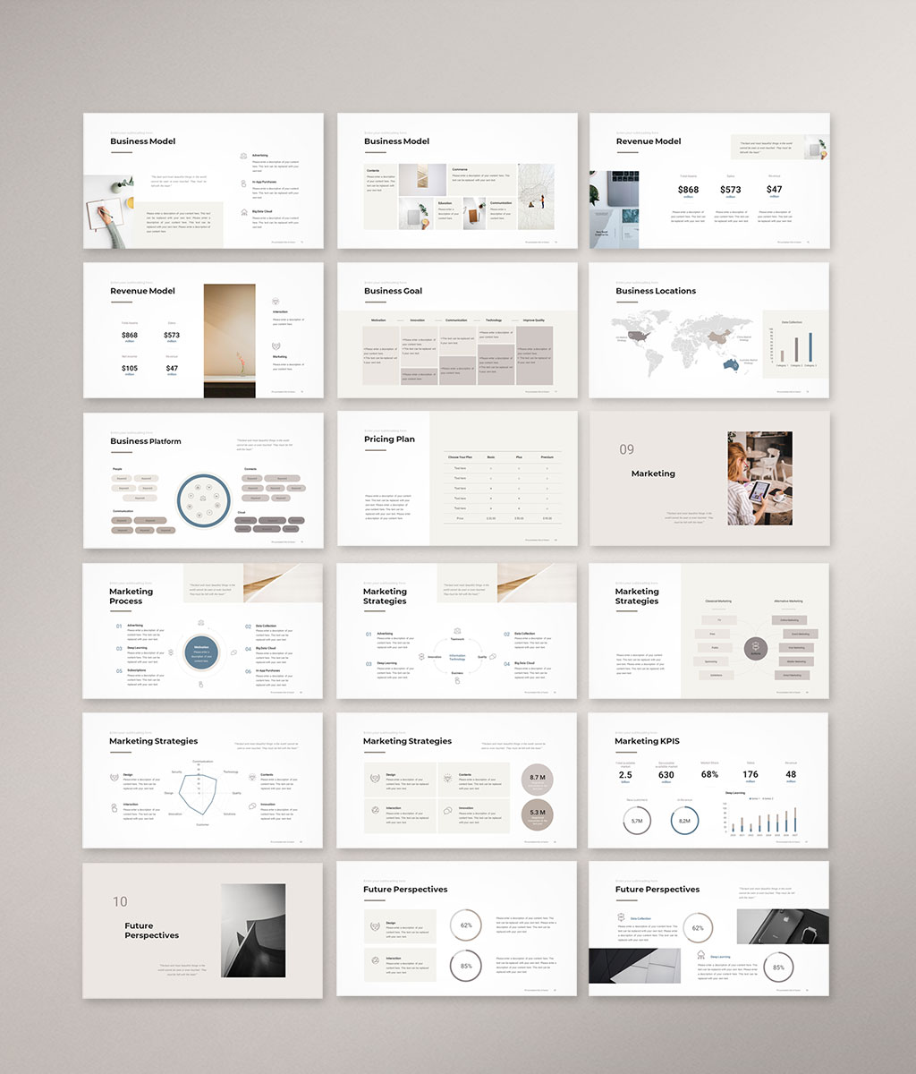 Pitch Deck PowerPoint Template 5